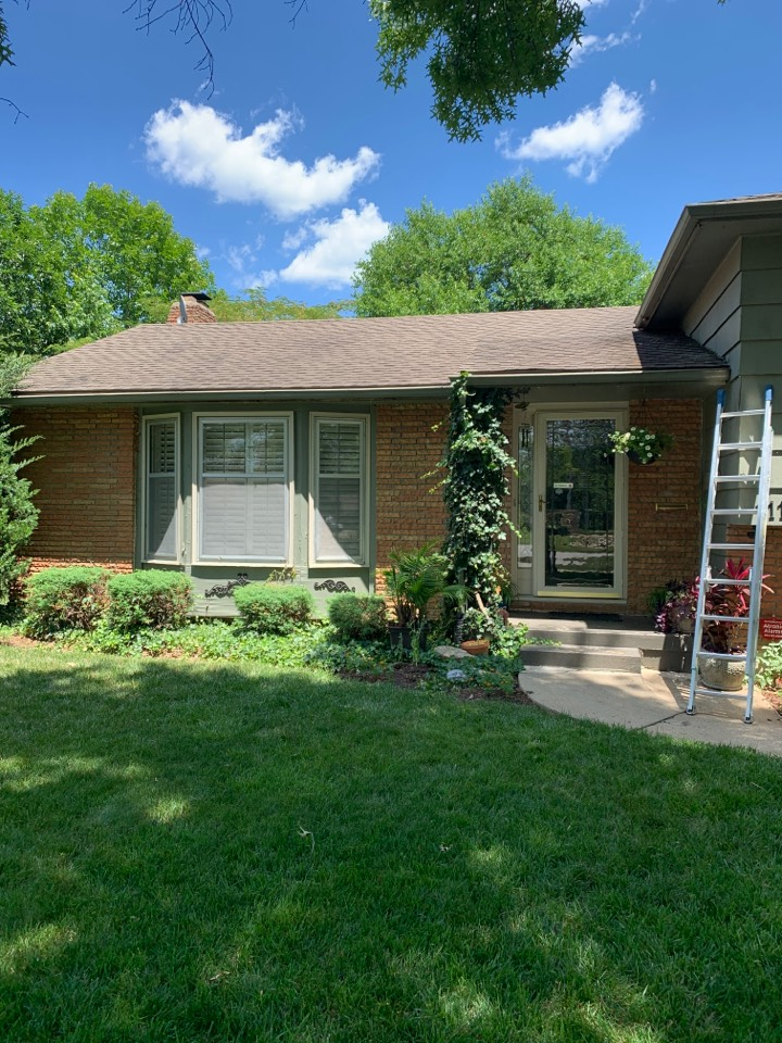 Kansas City, MO - Roof inspection and estimate.