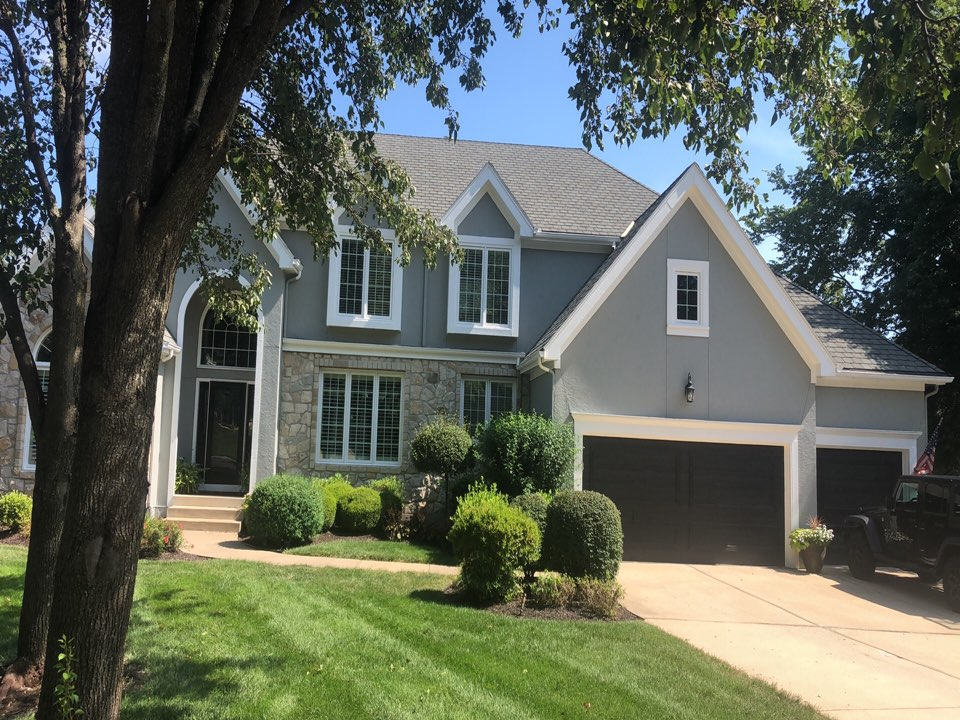 Overland Park, KS - Roof repair gutter inspection insurance adjuster approved replacement