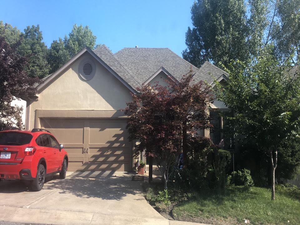 Kansas City, MO - Roof repair replacement gutter
