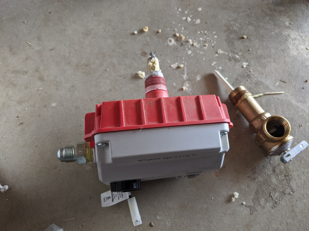 Paso Robles, CA - Bradford White water heater repair in Paso Robles.