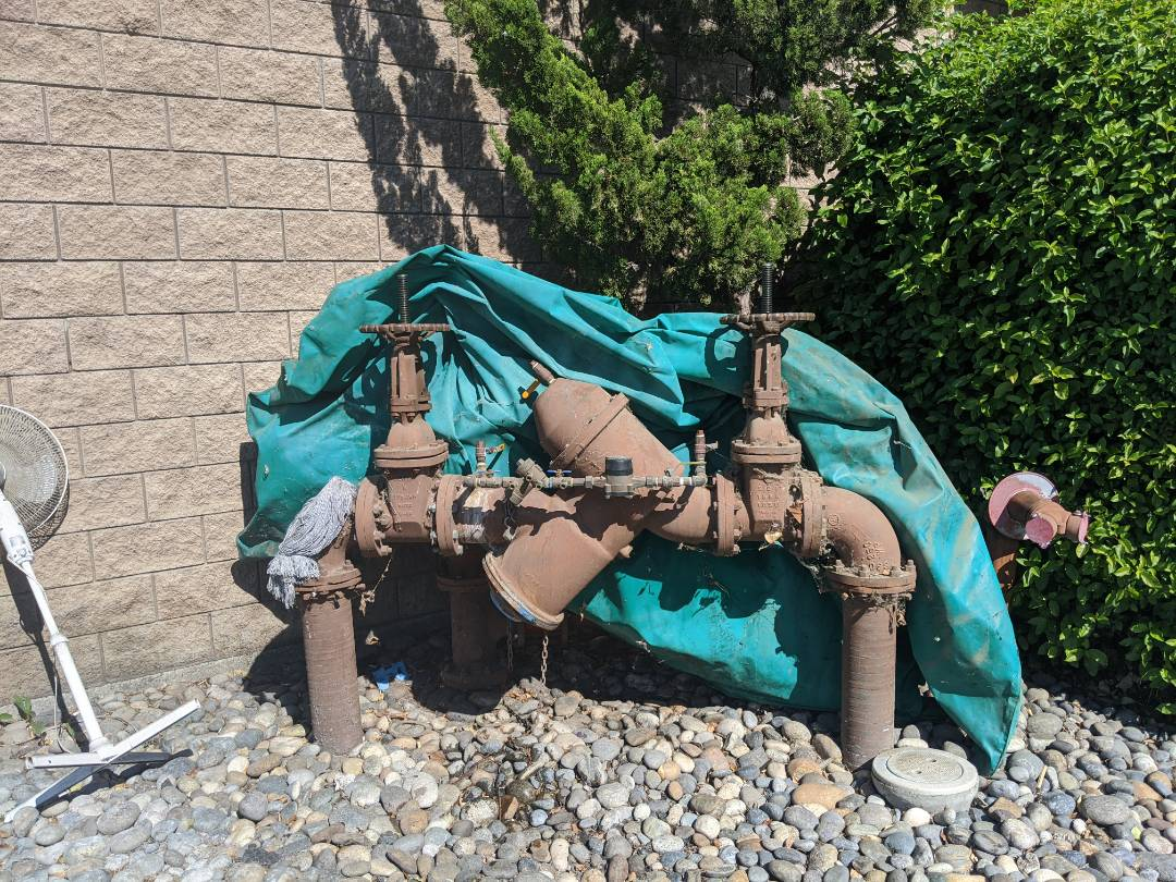 Paso Robles, CA - Backflow device testing in Paso Robles.