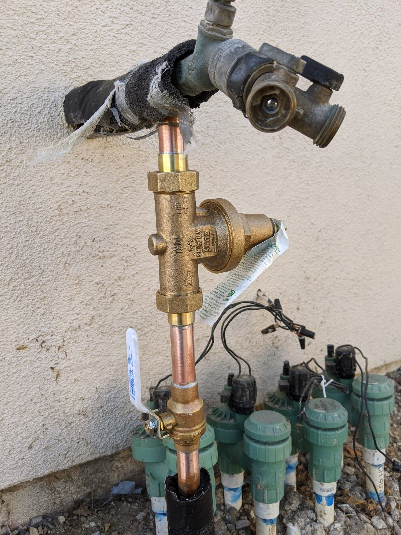 Paso Robles, CA - Pressure regulator replacement in Paso Robles.