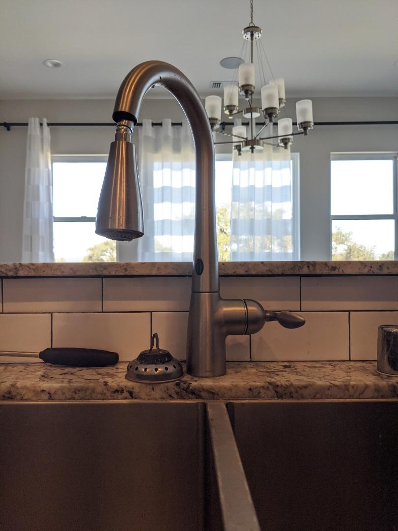 Moen kitchen faucet repair in Santa Ysabel Ranch, Templeton.