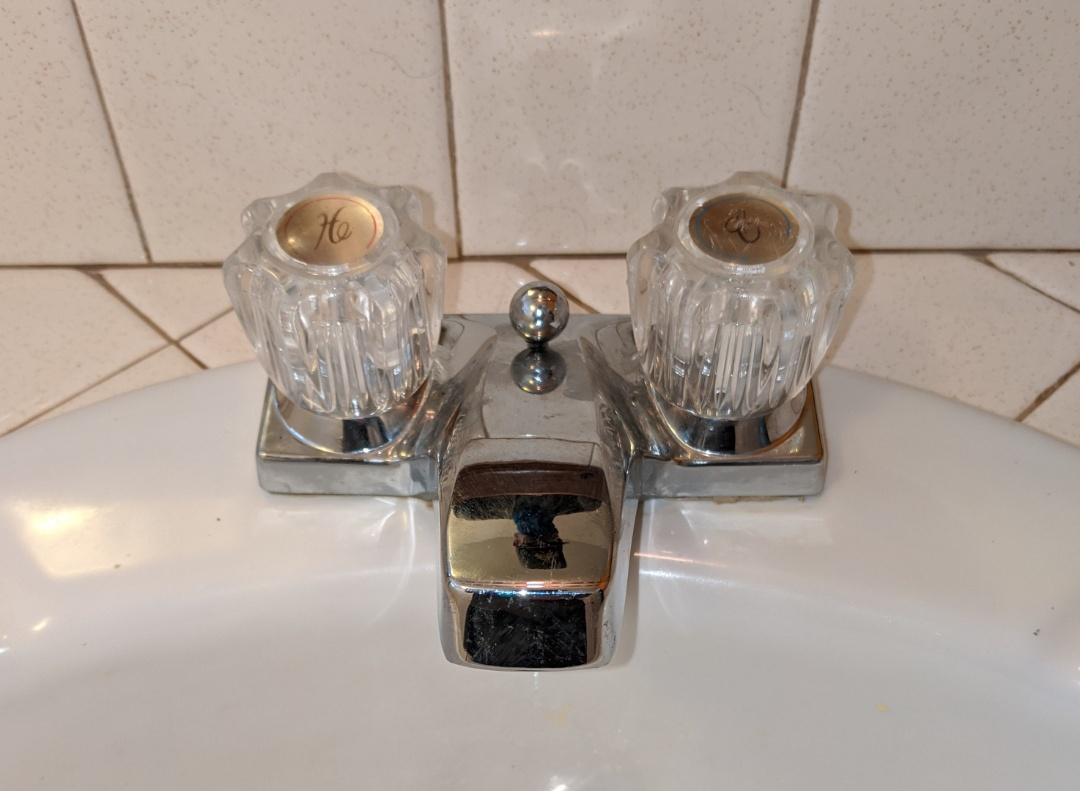 Morro Bay, CA - Installed customer supplied bathroom sink faucet in Morro Bay.