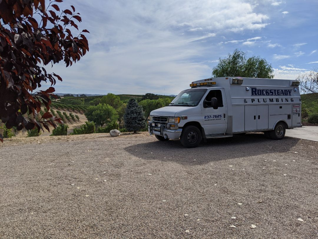 Creston, CA - Whole house plumbing inspection and drain cleaning in Creston at San Antonio Winery.