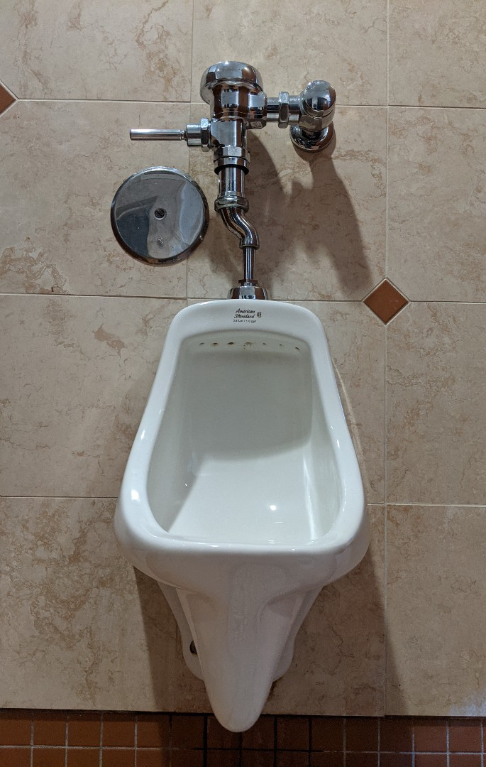 Urinal repair in Paso Robles.