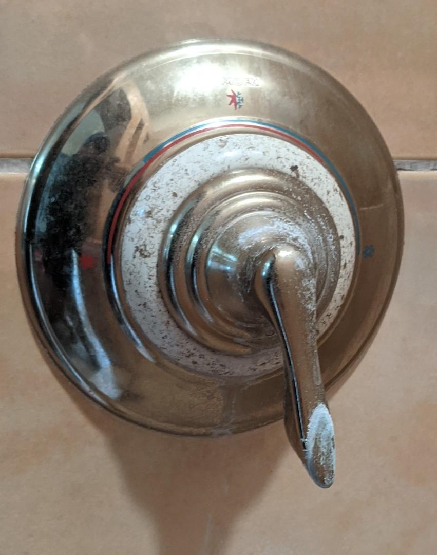 Creston, CA - Repaired Moen Positemp shower valve in Creston