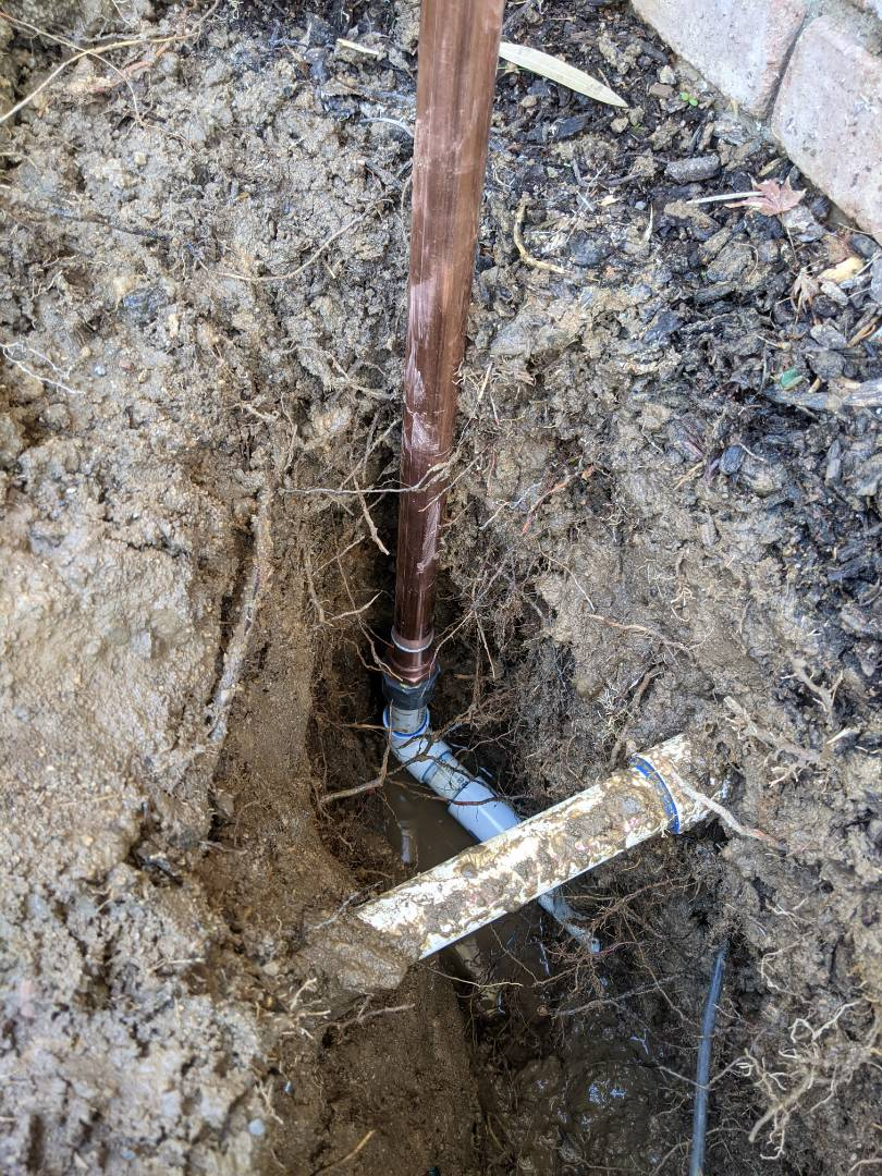 Paso Robles, CA - Repaired broken water main in Paso Robles.