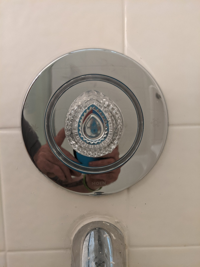 Repaired a Moen tub shower valve in Paso Robles.