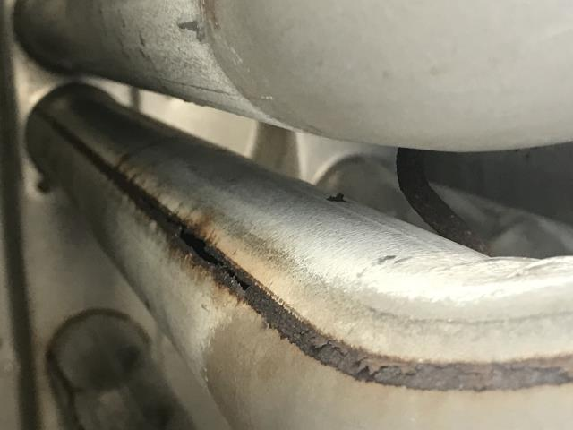 Etna, OH - Pickerington commercial HVAC service, heat exchanger heating failure