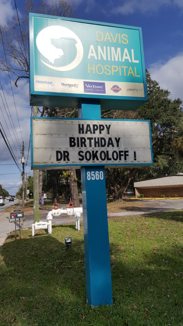 Happy Birthday to the best exotic pet veterinarian in Pensacola!!