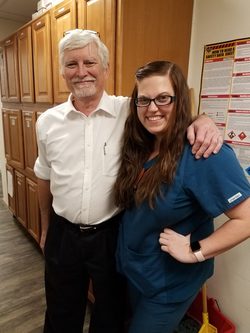 Happy Birthday to the best orthopedic and surgical referral assistant in Pensacola! Dogs and cats are thankful for the care you give them, Peyton!