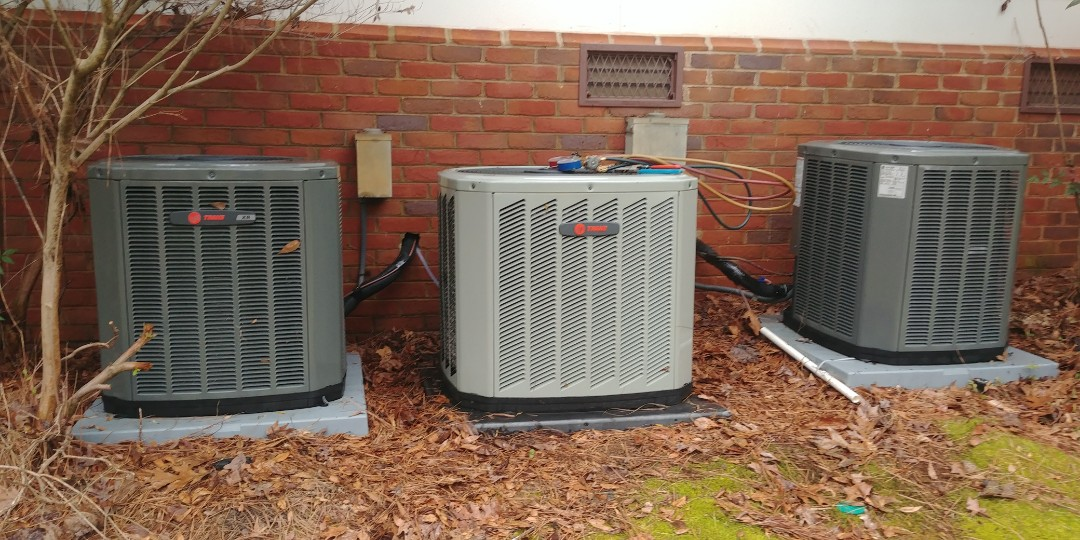 Alpharetta, GA - Performed spring mvp on trane system at Alpharetta ga