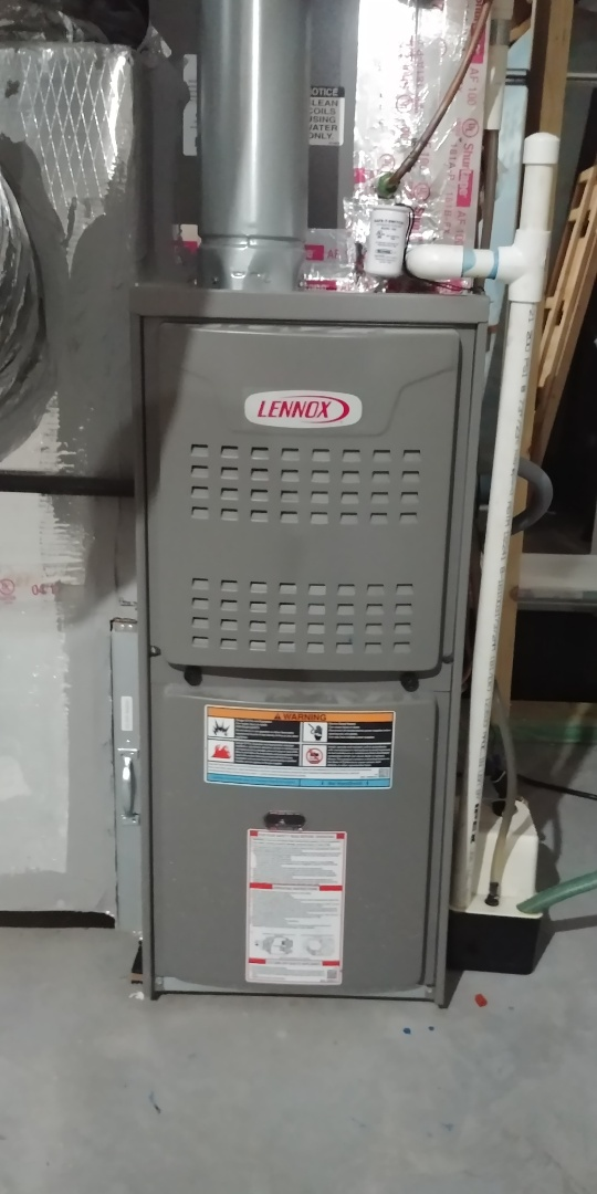 Cumming, GA - Performed fall tune up on Lennox furnace and heatpump at Cumming GA