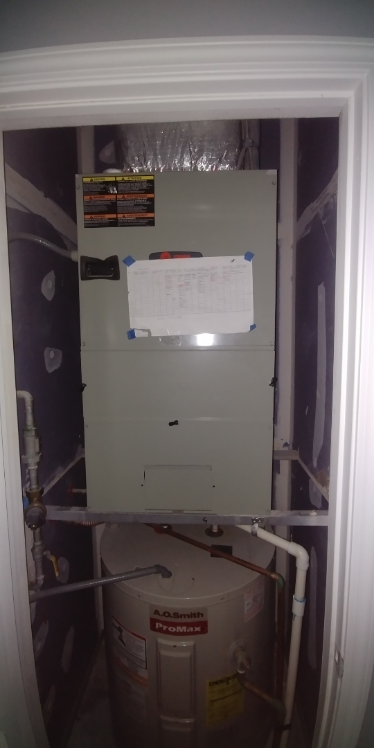 Atlanta, GA - Performed fall tune up on trane Heatpump at Atlanta GA