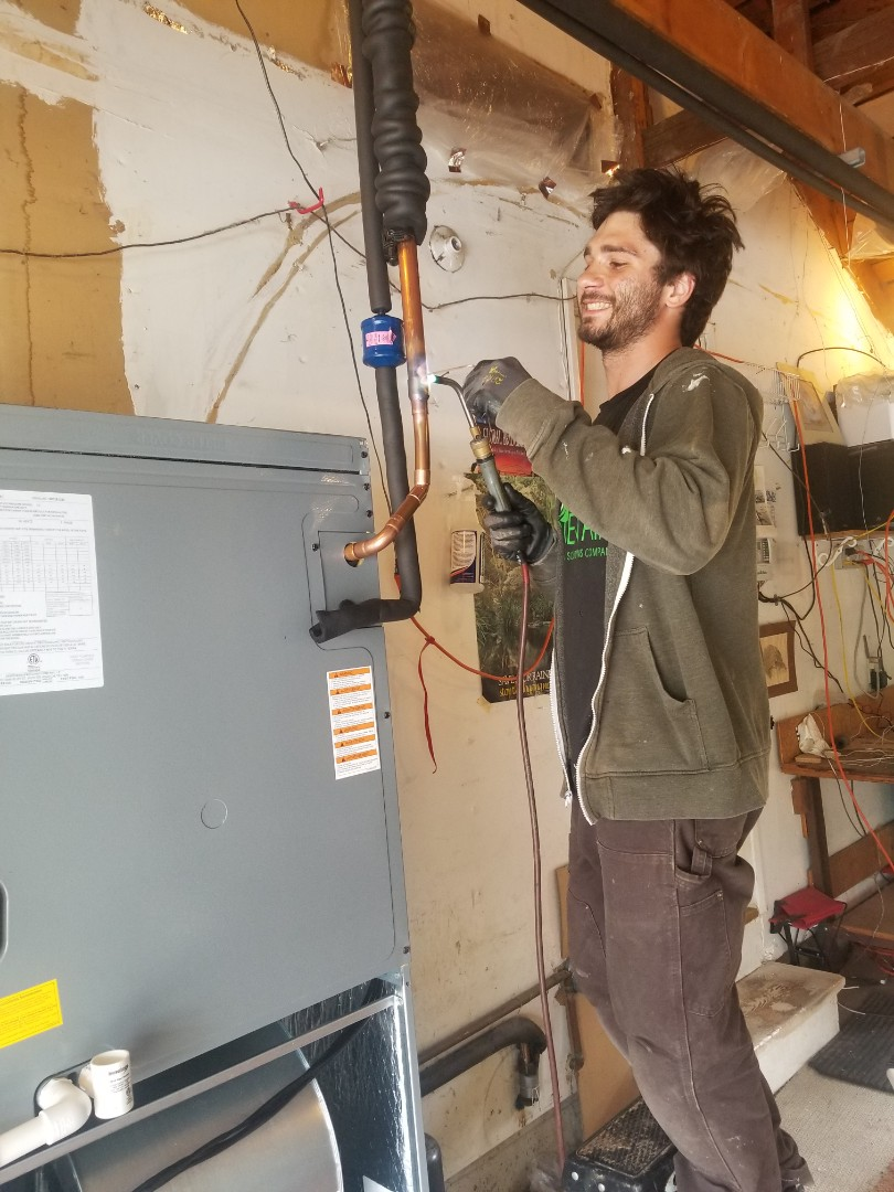 Walnut Creek, CA - Heat pump install