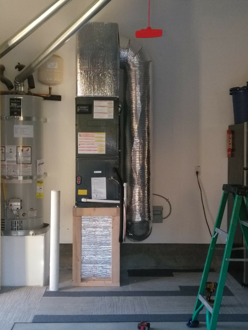 Clayton, CA - Removed mini split system and replaced it with heat pump.