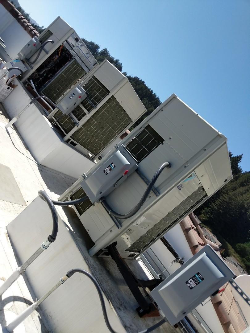 Scotts Valley, CA - Commissioning Daikin equipment