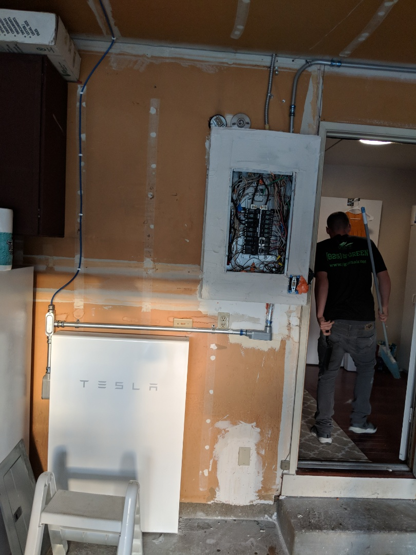 Livermore, CA - Inspection, Tesla PW and solar