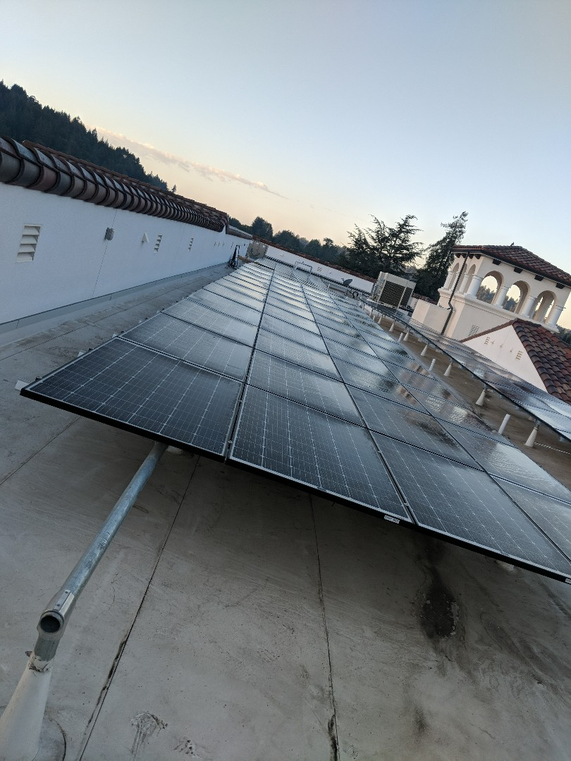 Scotts Valley, CA - Final solar inspection today!