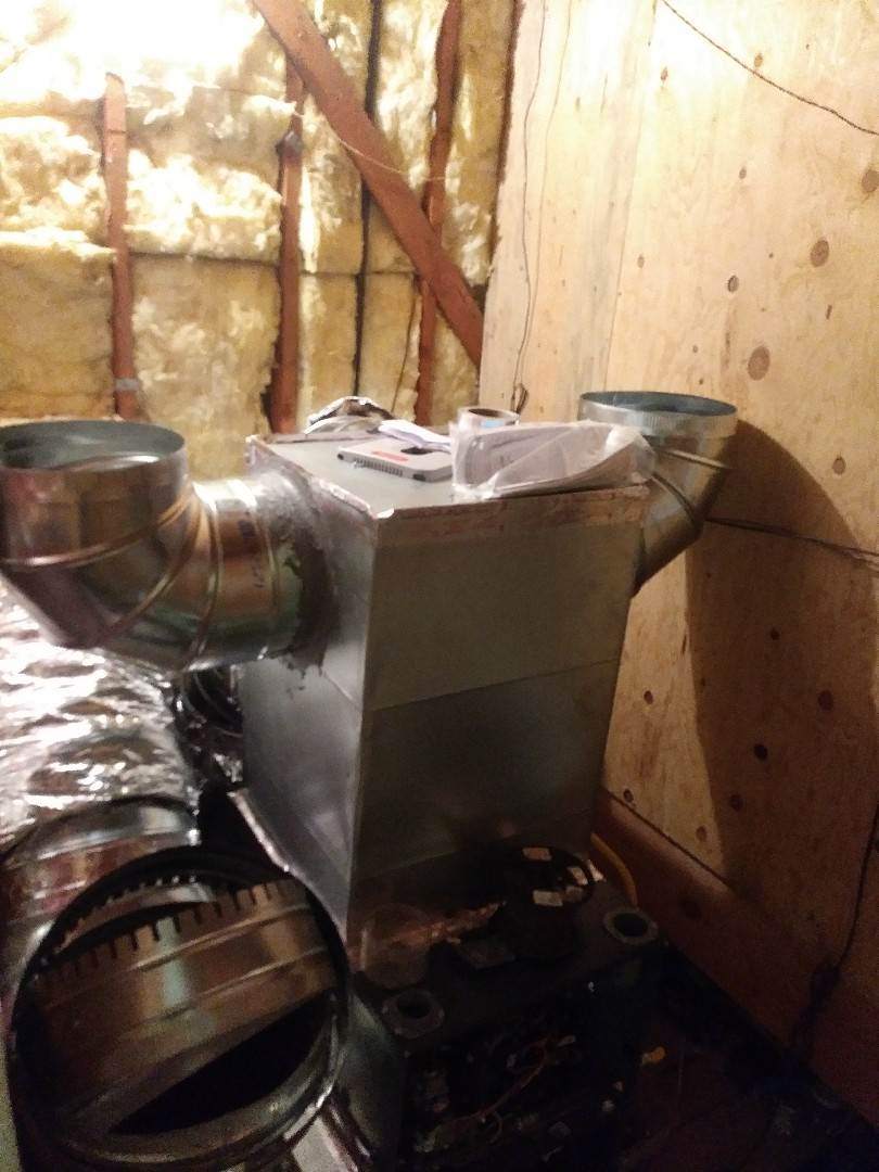 Oakland, CA - Furnace install new ducting