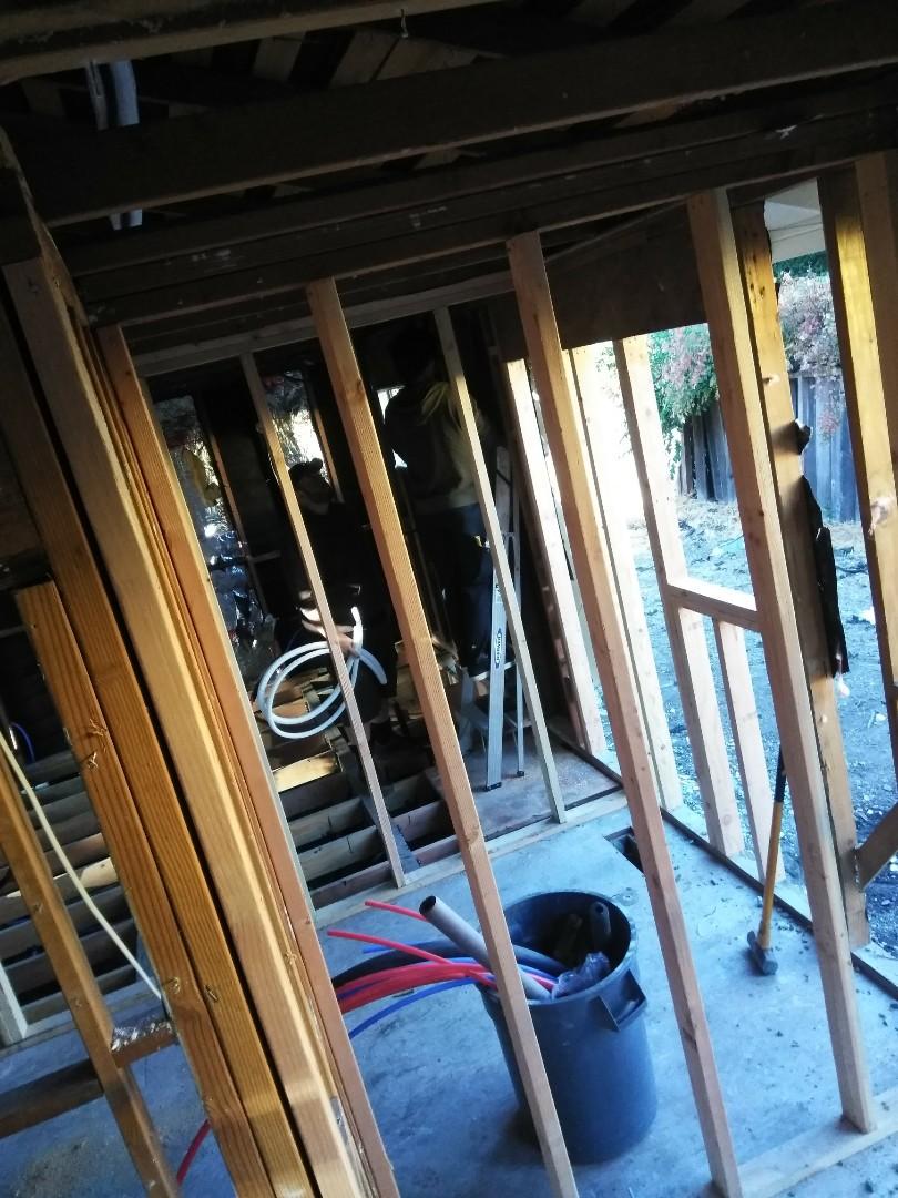 Danville, CA - New construction mini split system and heat pump install.