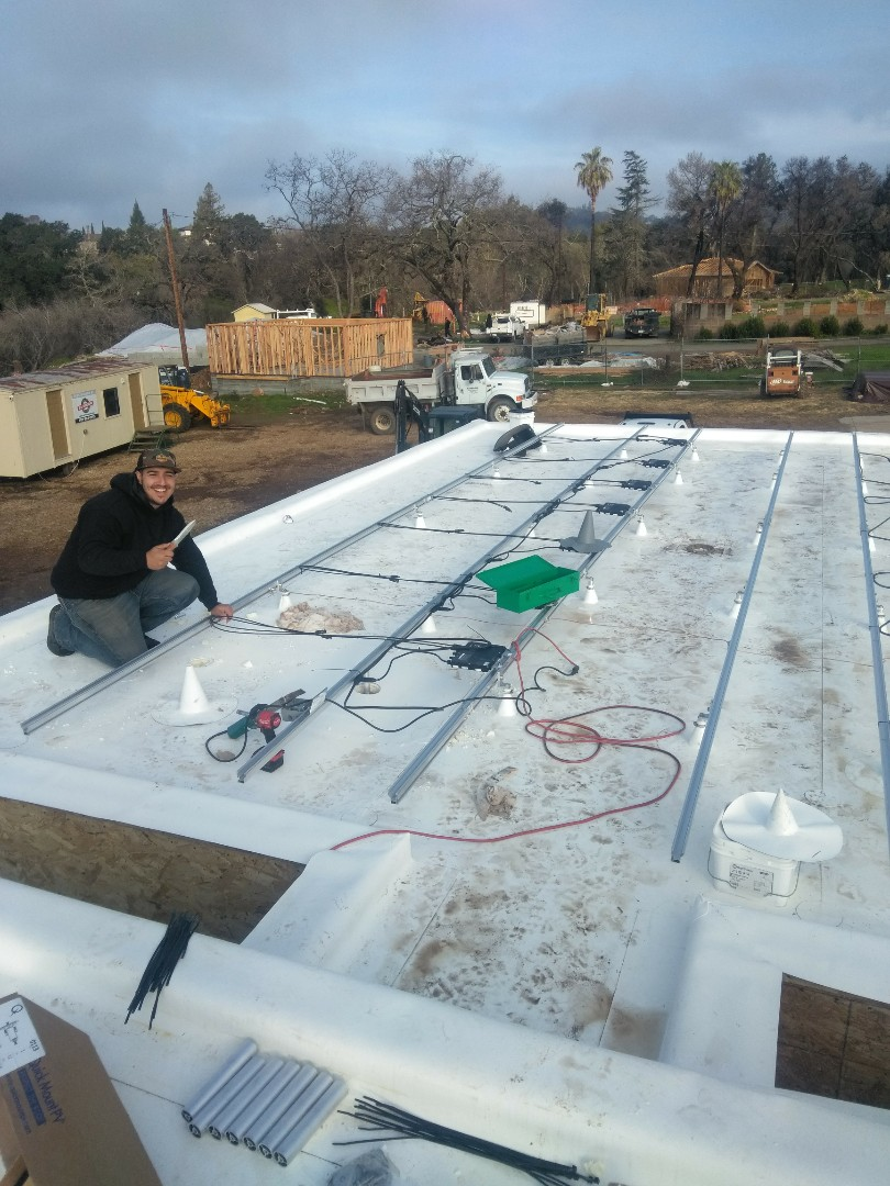 Napa, CA - Radiant and solar job in Napa