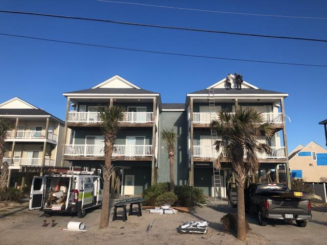 Surf City, NC - 130MPH Timberline HD Stainless Steel Nails F8 Drip edge Facia Repair