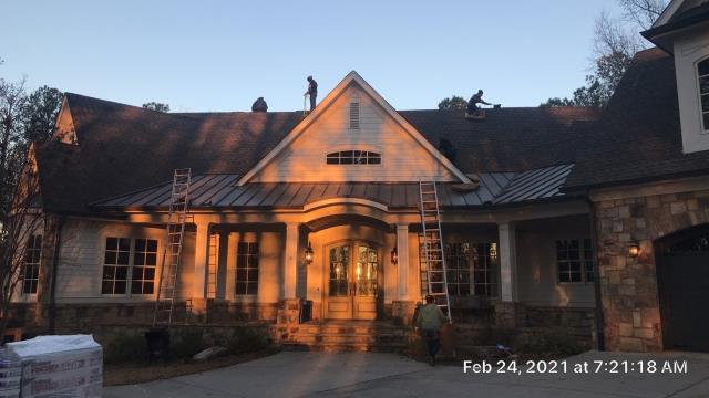 Eatonton, GA - Replacing this roof in Eatonton. Great day to get started