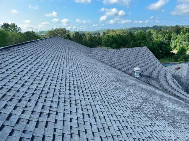 Milledgeville, GA - Free roof inspection for storm damage.  Found hail damage to roofing and shingles. Recommended full roof replacement through insurance. Gave free quote for new roof using GAF Timberline HDZ.