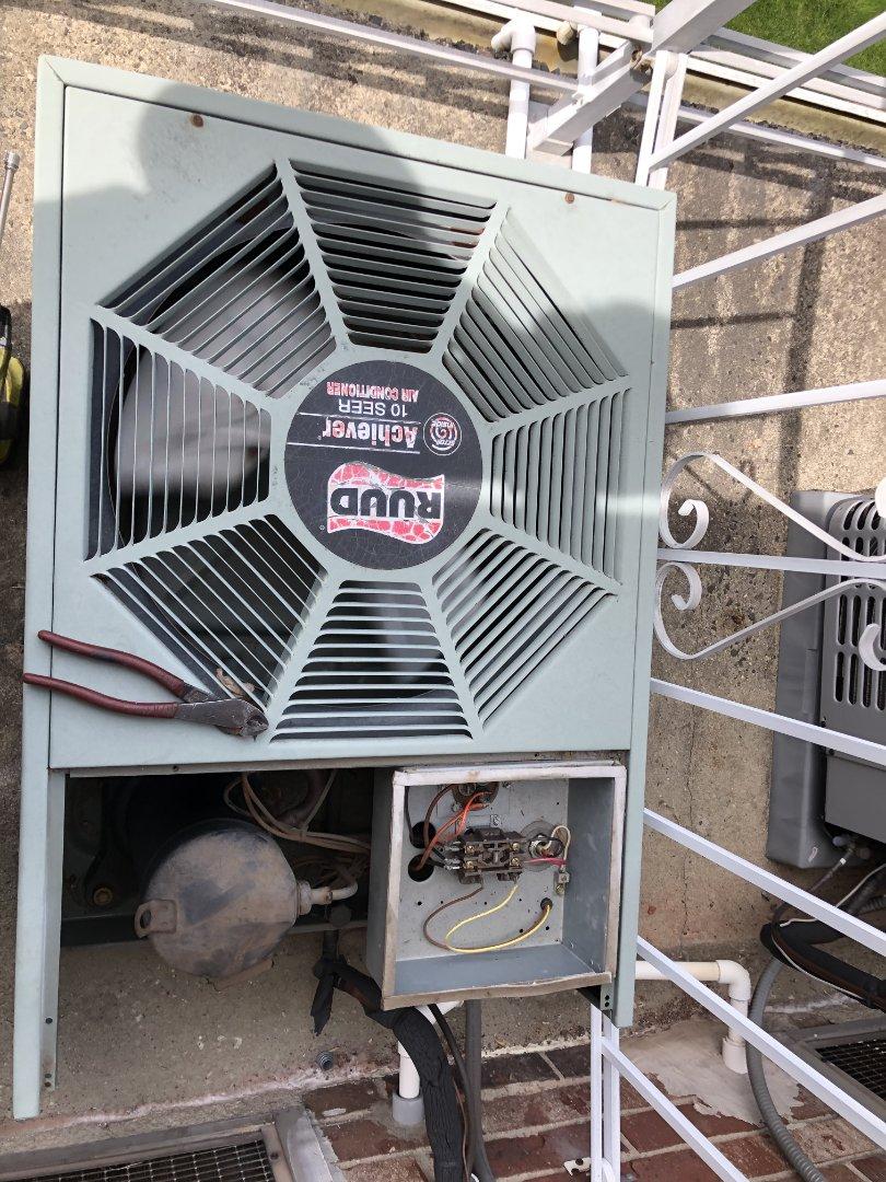 Summit, NJ - Ruud condenser fan repair