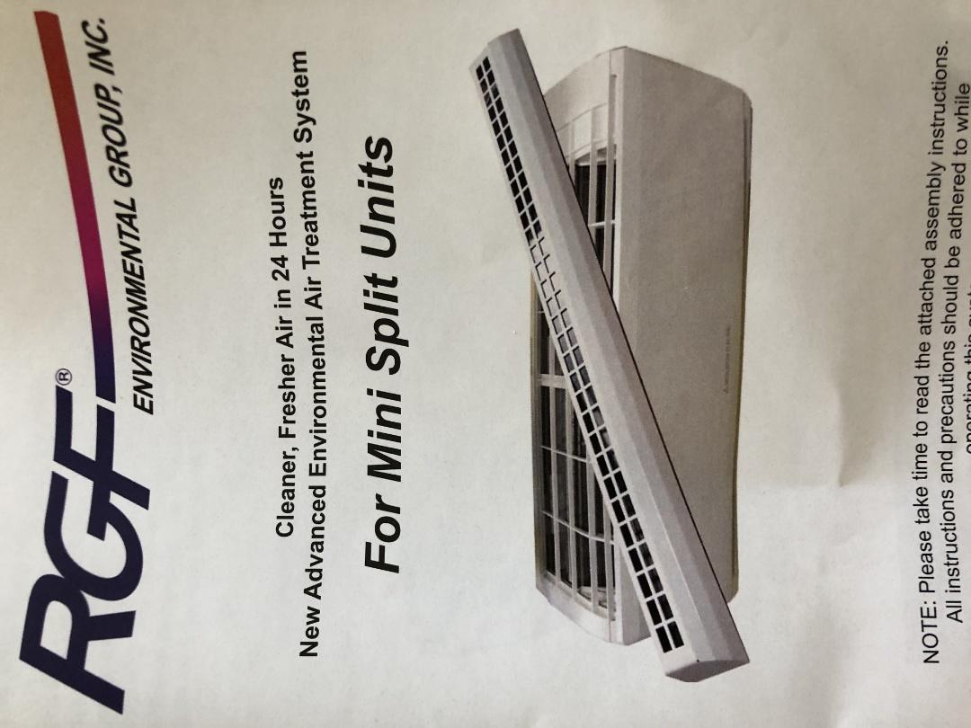 Garwood, NJ - Rgf air cleaner install Mitsubishi ductless split system