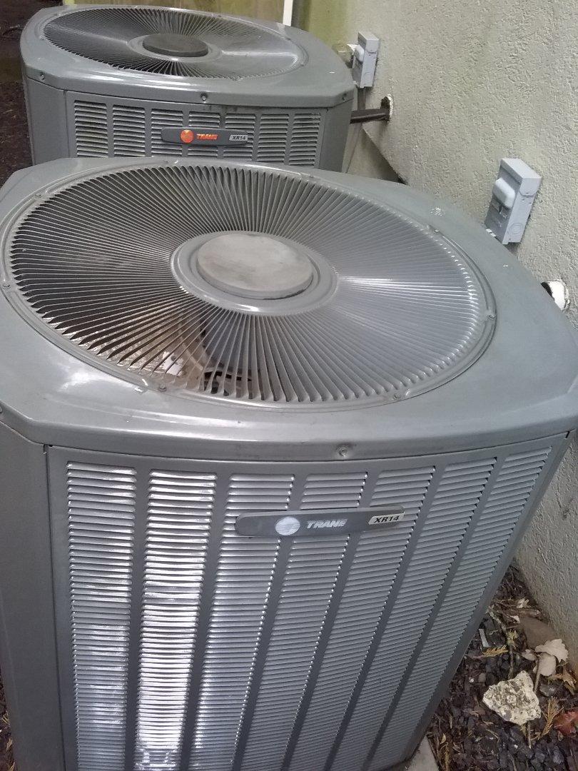 Westfield, NJ - Trane condenser replace
