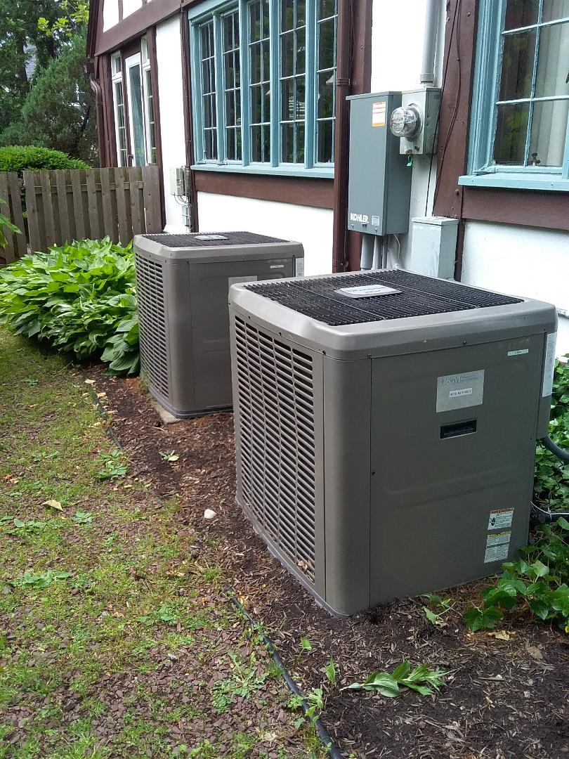 Westfield, NJ - York AC system maintenance.