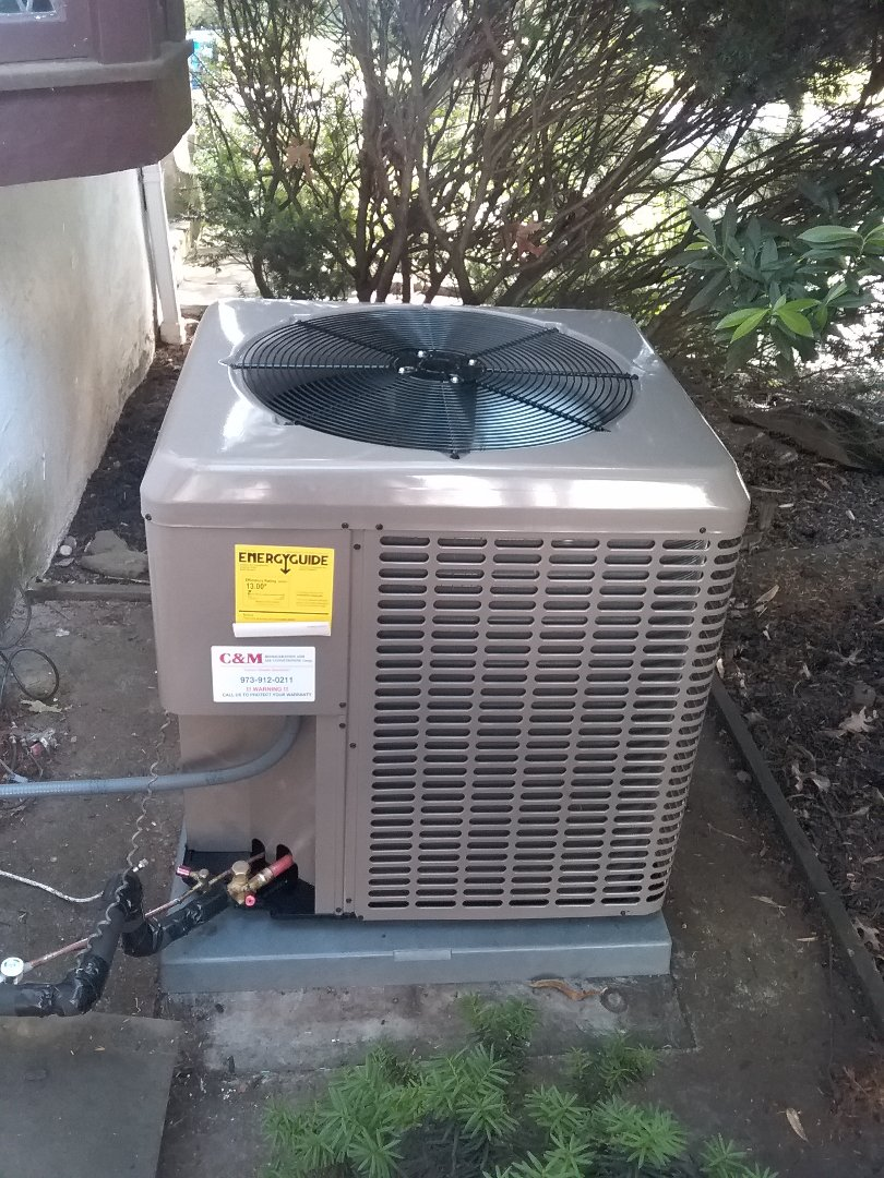 Westfield, NJ - York unico installation condenser and air handler