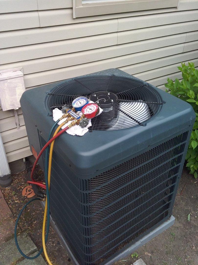 Westfield, NJ - York service ac condenser