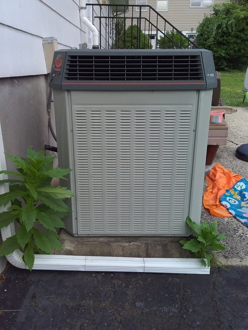 Mountainside, NJ - One system Trane AC maintenance.