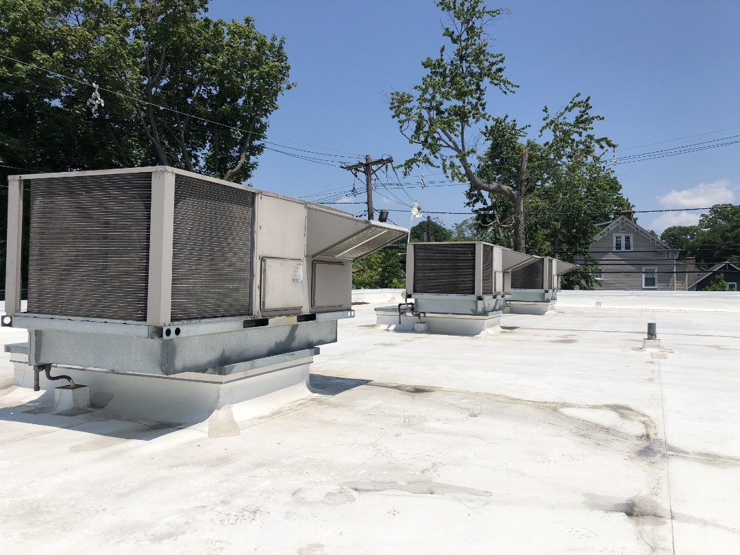 Westfield, NJ - 3 system york rooftop filter change and coil cleanings.