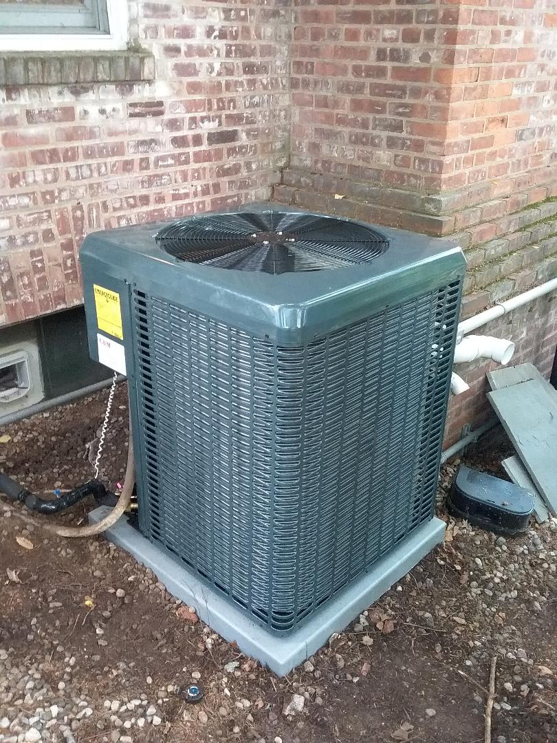 Millburn, NJ - New guardian ac condenser install