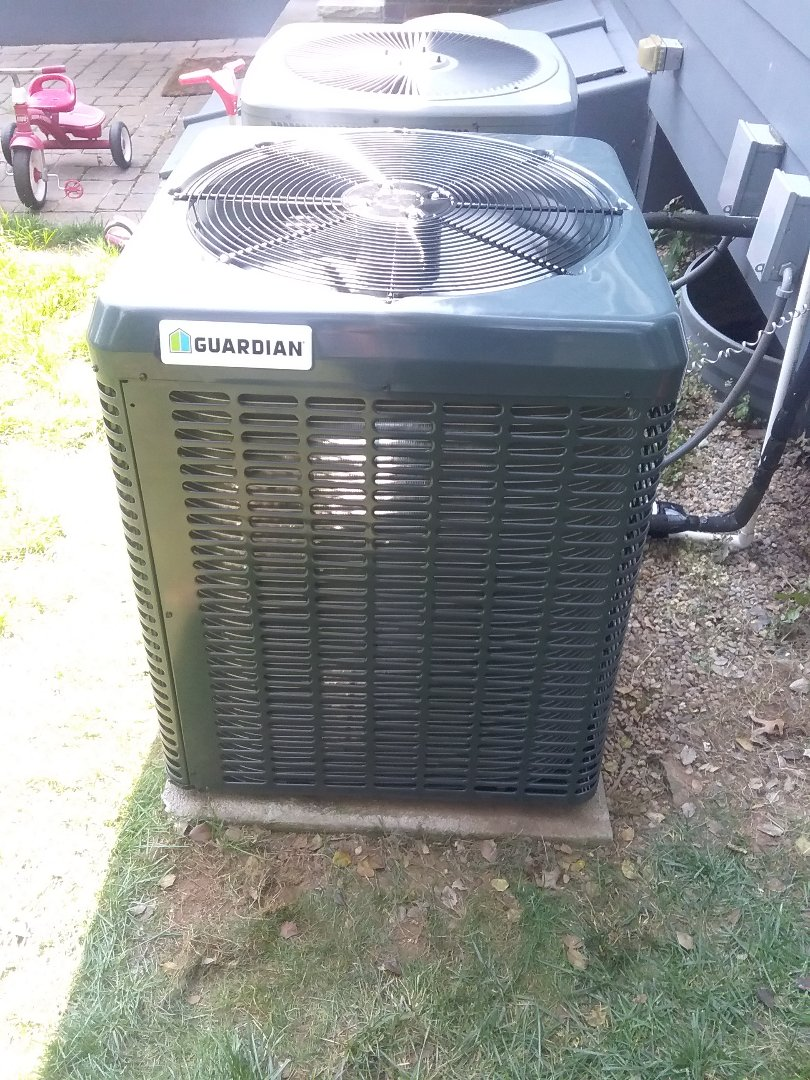 Westfield, NJ - New guardian condenser install
