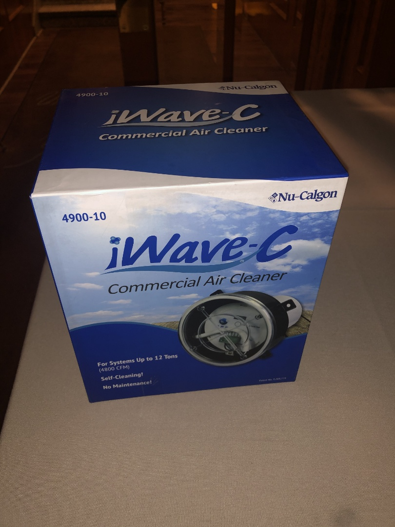 Mountainside, NJ - New iwavec air cleaner install commercial