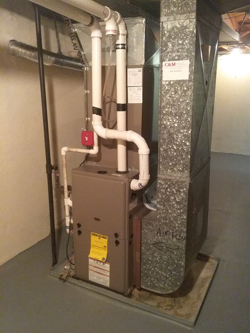 Mountainside, NJ - York 90% furnace preventative maintenance.