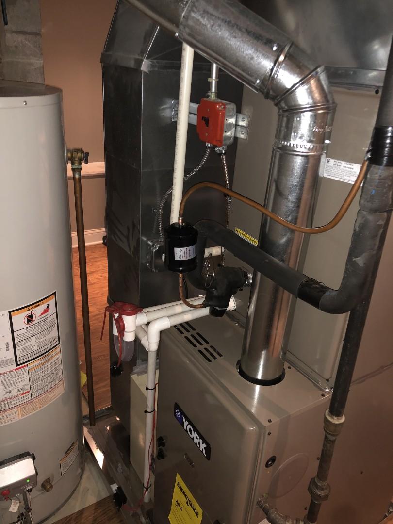 Springfield, NJ - York furnace installation