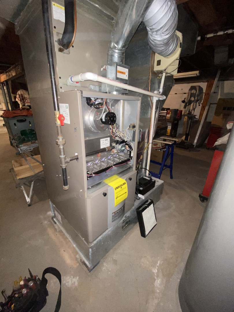 Mountainside, NJ - York furnace preventative maintenance.
