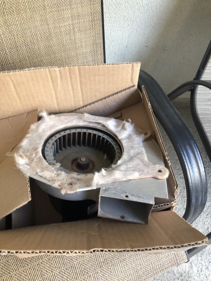 Inducer motor repair