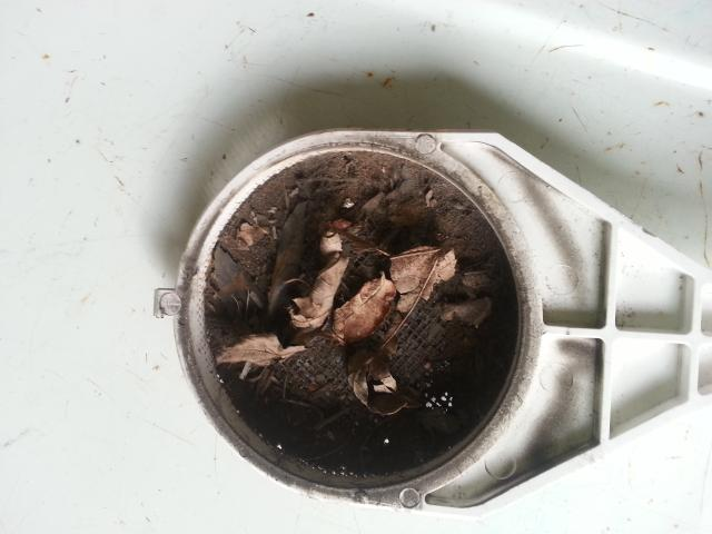 Middletown, NJ - Called to house for no hot water and no heat.  Found intake filter on a Navien combination boiler/water heater completely clogged.  Cleaned filter and started unit and verified hot water and heat were working properly.