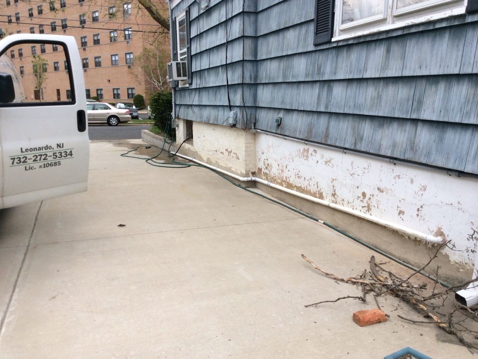 Keyport, NJ - Installed new sump pump in pit in basement with new drain lines run out wall and down driveway towards street. Installed new pressure reducing valve on boiler with new ball valve.