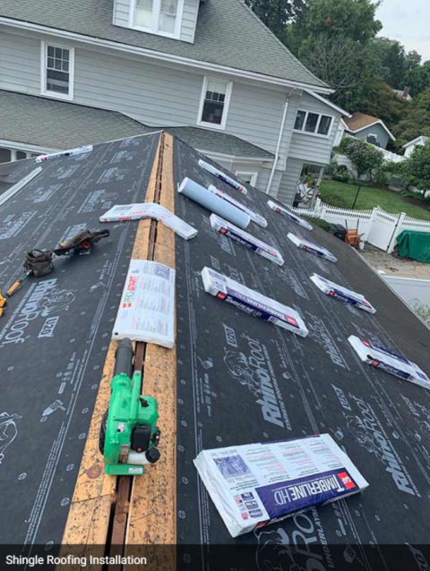 Bristol, CT - Residential roof replacement and roof installation for a new roof!