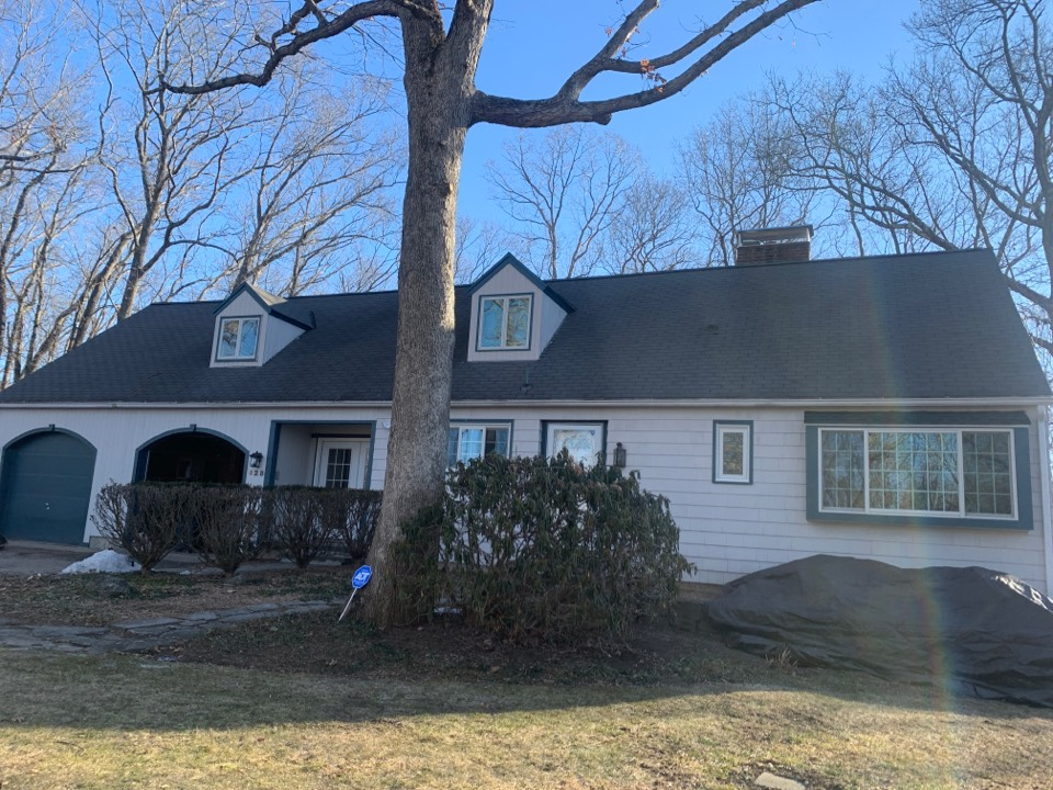 Middlebury, CT - Roof inspection for a GAF timberline HDZ asphalt roof replacement by the best GAF contractor near you   Roof repair Roof estimate