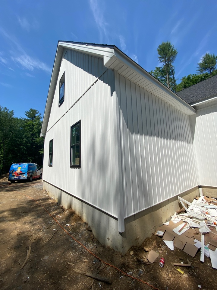 Harwinton, CT - Vinyl siding installation using Kaycan Board and Batten siding by the best siding contractor near you.